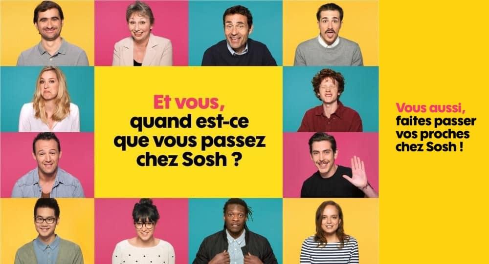 Forfait mobile pas cher : SOSH !