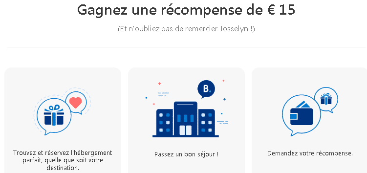 Code promo booking 15 de remise sur for Reserver sur booking