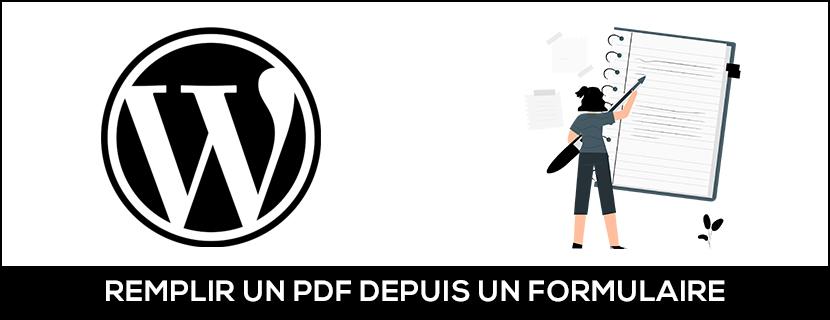 Compléter un PDF existant depuis un formulaire WordPress