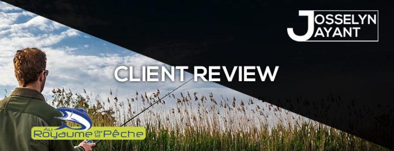 CLIENT REVIEW : Materiel-Pêche.net