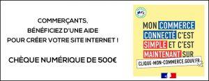 Commerçants & Restaurateurs : Aide de 500€ !