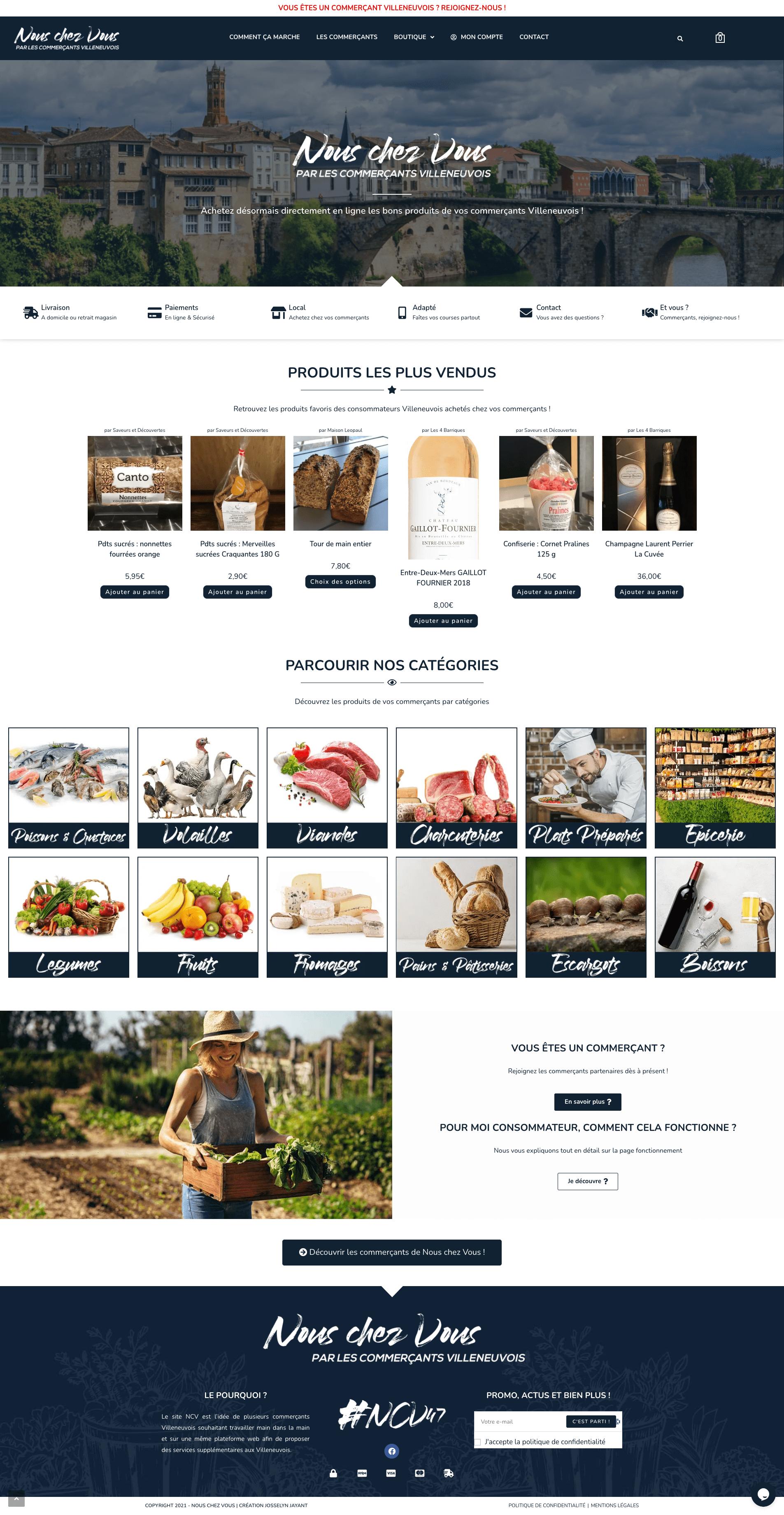 création marketplace wordpress